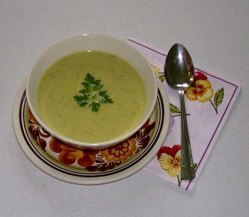 zupa kremowa z cykorią i śmietanką
