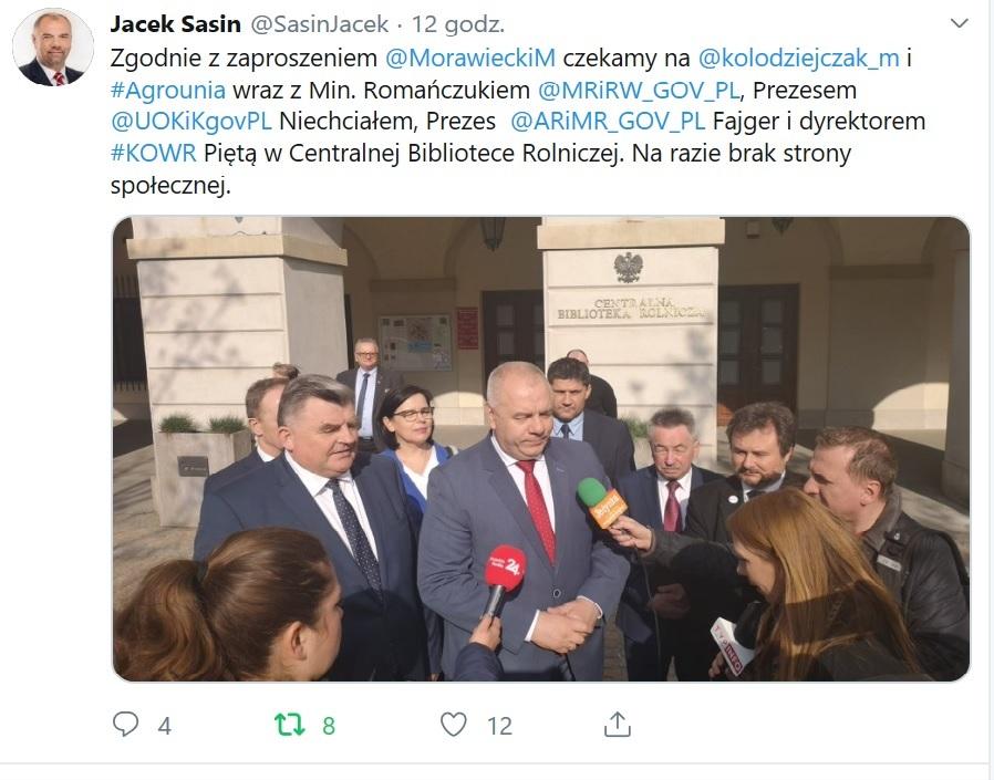 Twitter Jacek Sasin