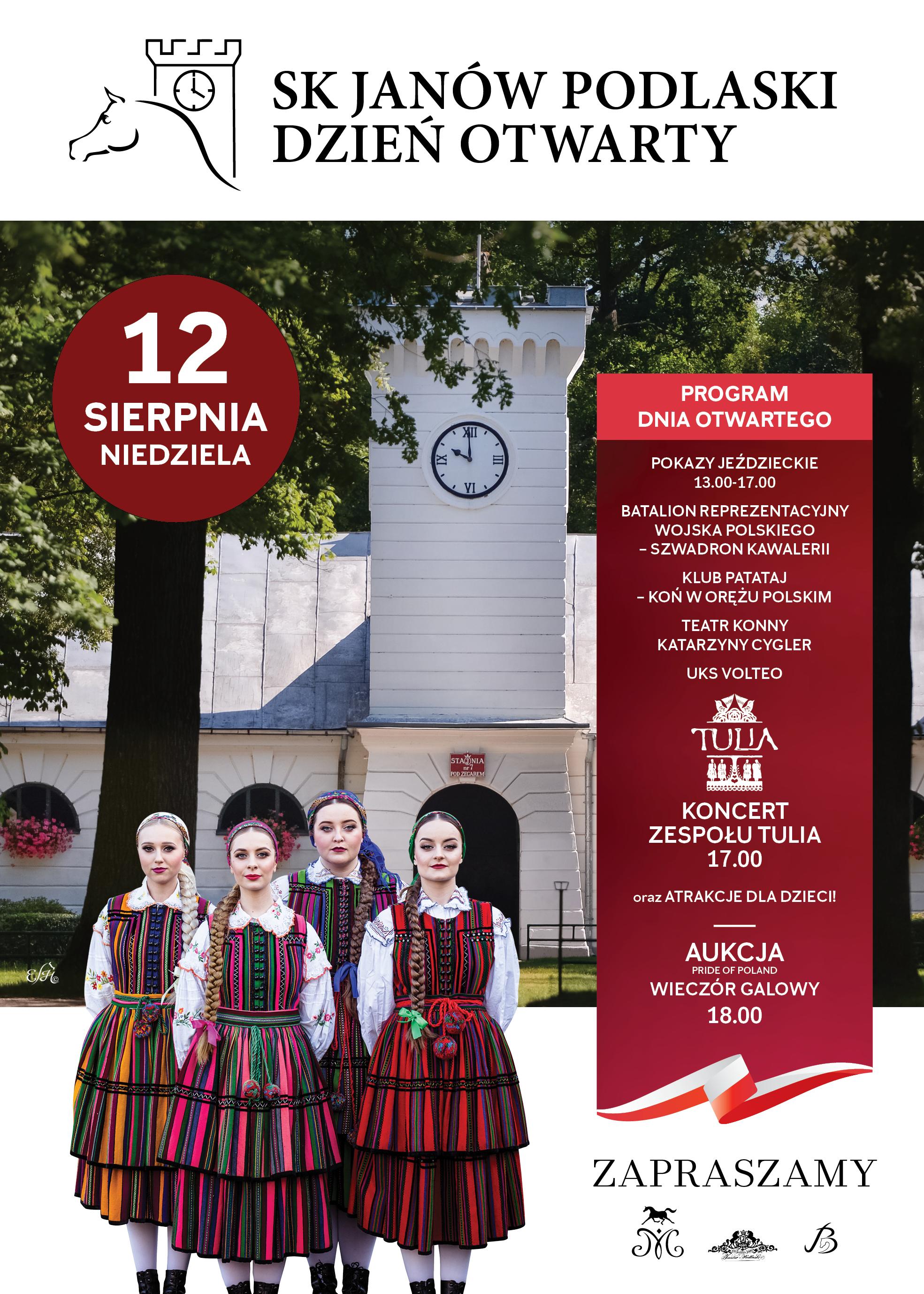 Dzień otwarty w Janowie Podlaskim już 12 sierpnia!