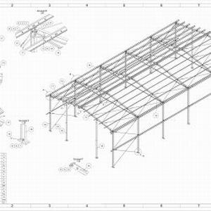 10x20 Konstrukcja Stalowa Hala Wiata Magazyn Garaż Warsztat Obora